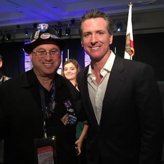Art Cohen with CA Govenor Newsom.JPG