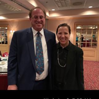 Art Cohen with CA Lt. Governor Eleni Kounalakis.jpg