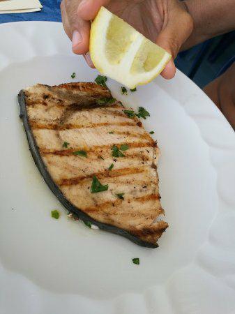 Pesce spada alla griglia