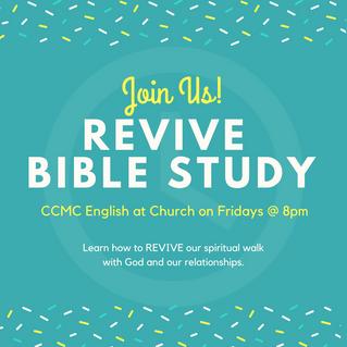 REVIVE: Bible Study