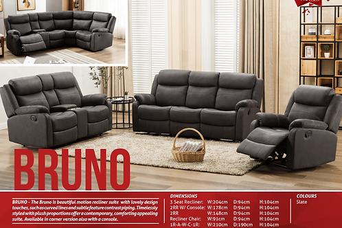Bruno fabric sofa