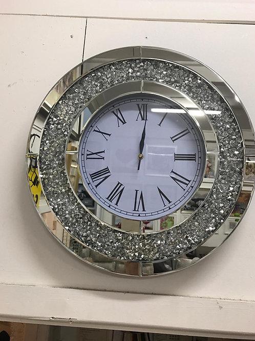 Round Cristal clock