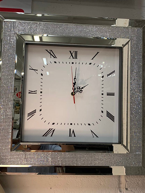 Square diamond clock