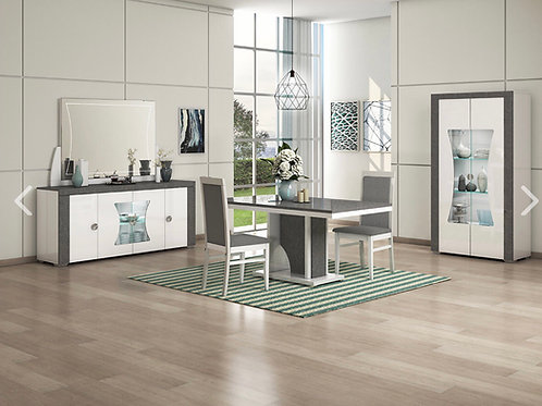 Linux dining and cabinet set