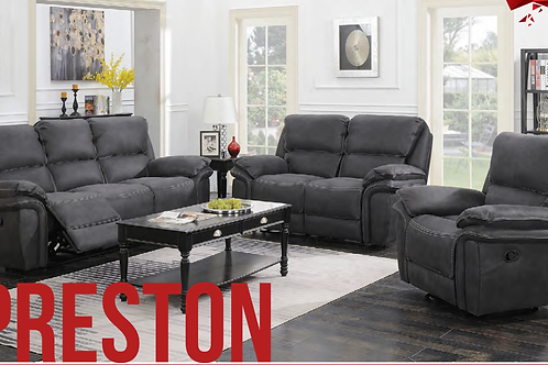 Preston Electric recliner sofa