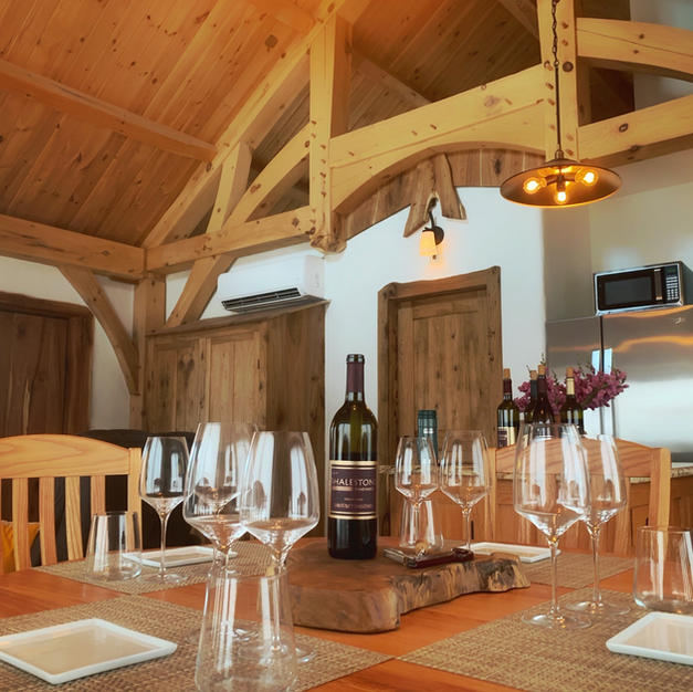 Table and Timber Frame