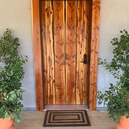 Cedar Front Door