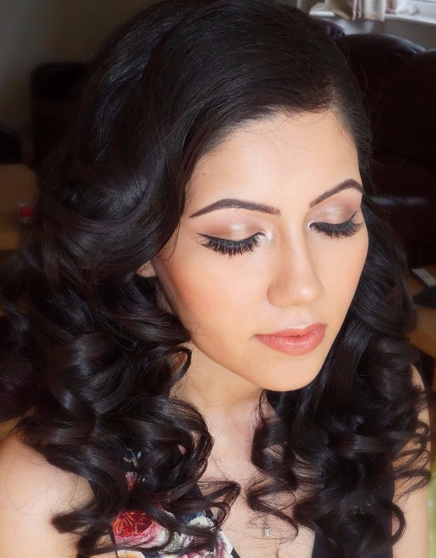Bridal hair and makeup, London