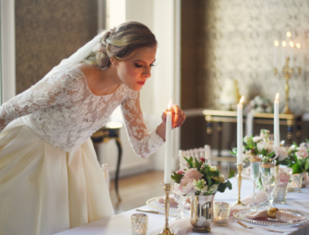 An English Country Wedding, Styled Photoshoot