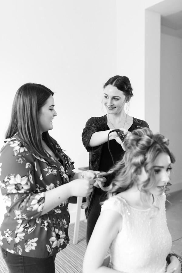 Wedding Hair Training
