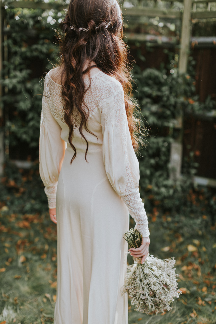 Boho Wedding Hair & Makeup