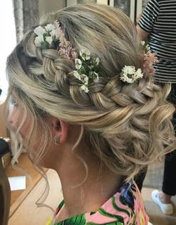 Wedding Hair With Plaits
