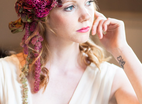 Wedding Hair Inspiration - Wearing Fresh Flowers In Your Hair