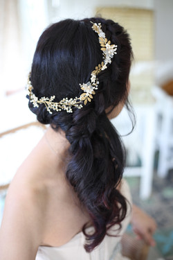 Wedding Hair by Leigh