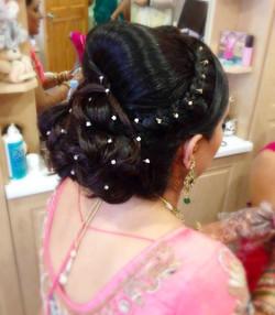 Asian Bridal Hair Up