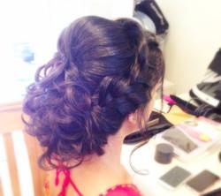 Indian Bridal hair up