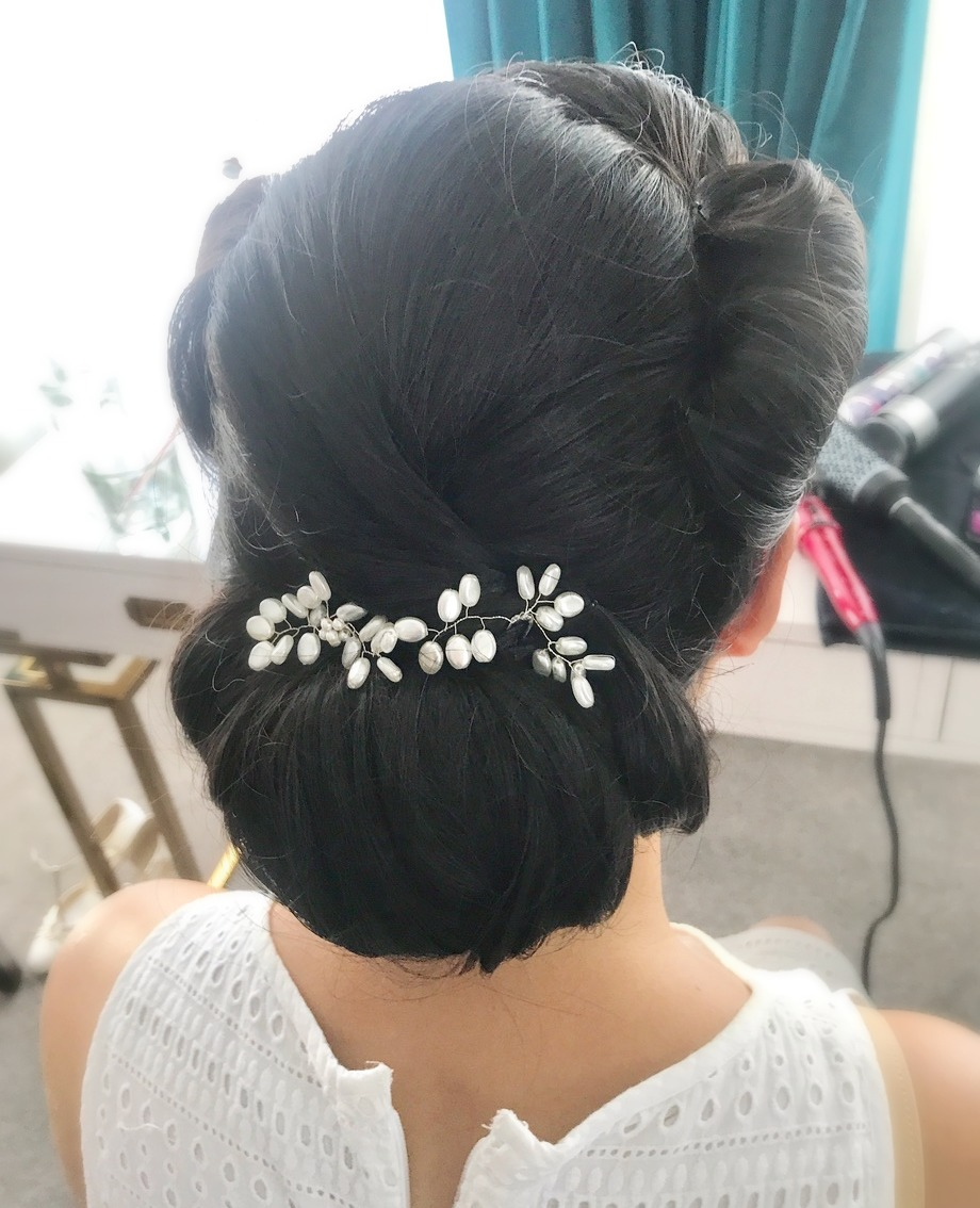 Asian Bridal Hair Styling