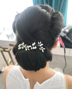 Asian Bridal Hair Styling