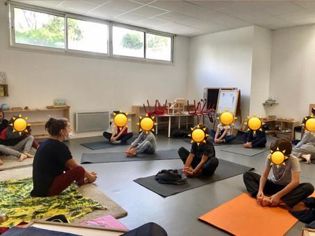 Atelier yoga : gestion du stress et des émotions, concentration, découverte de son corps