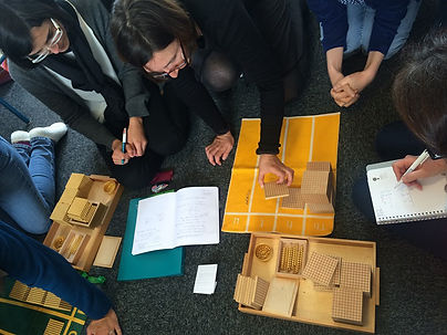 Formation Montessori 3-6 ans Mathématiques