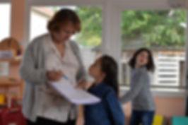 Sylvie d'Esclaibes Enfants Montessori 6-12 ans