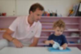 Alexandre d'Esclaibes enfants Montessori 3-6 ans