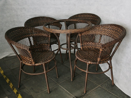 Mesa Redonda Cafe 4 Lugares