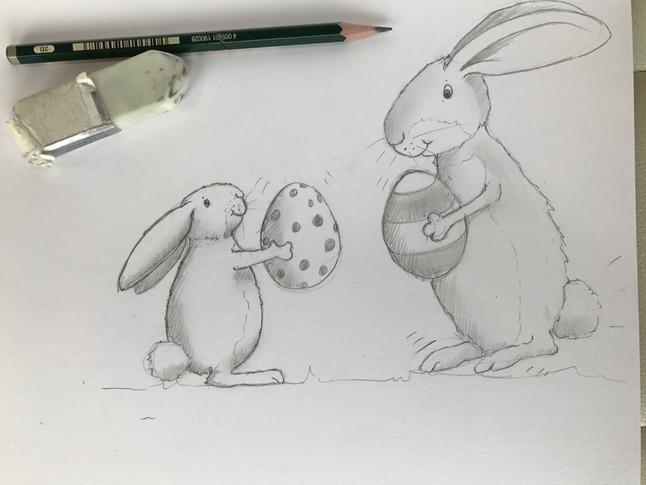 Easter Sketch!