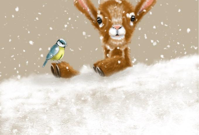 'Nick & Bluey' - Pack of 5 Christmas Cards