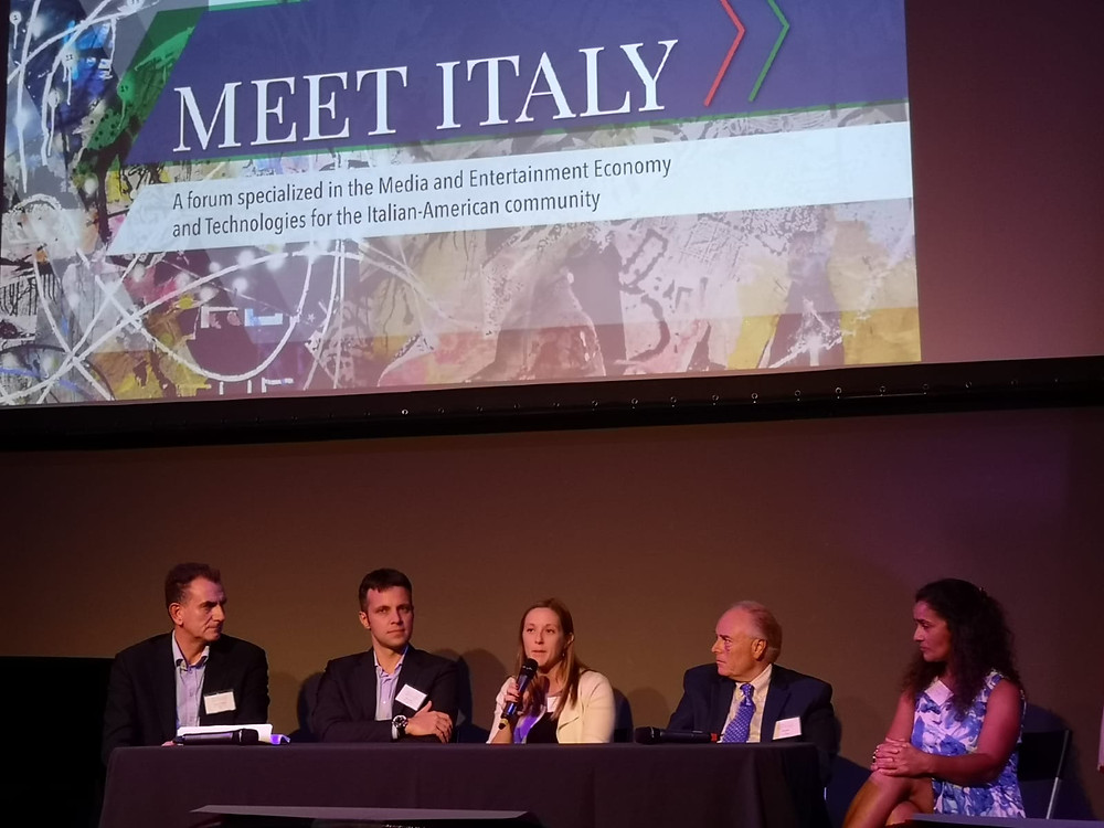 Meet Italy, from Scooters to Rockets panel