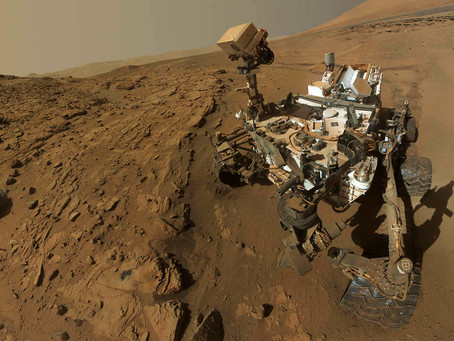 Rockhopping on Mars