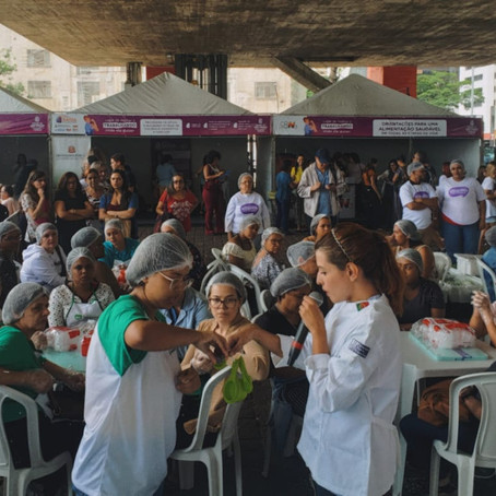 Saladorama para a Avenida Paulista.