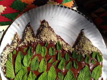 Raw Chocolate Avocado Cake
