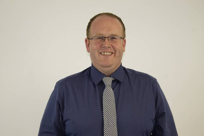 A picture of Track NN's Managing Director, Thomas Cliffe