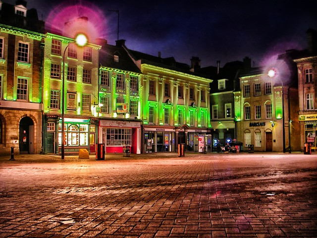 A picture of Northampton town centre