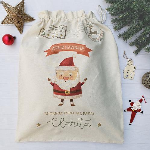 Bolsa para regalos Navidad