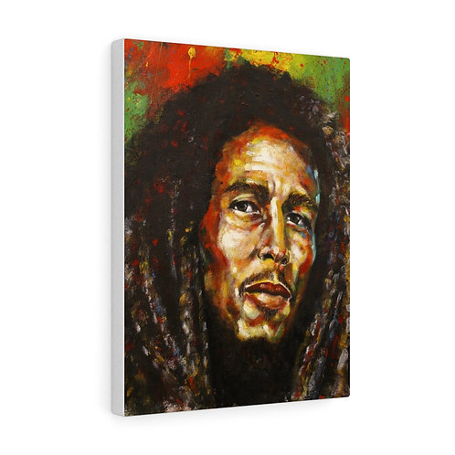 "Canvas Gallery Wrap Print ""The Legend of Reggae"""