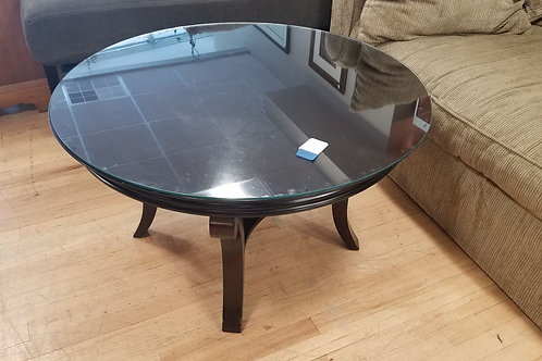 Black Circle Coffee Table