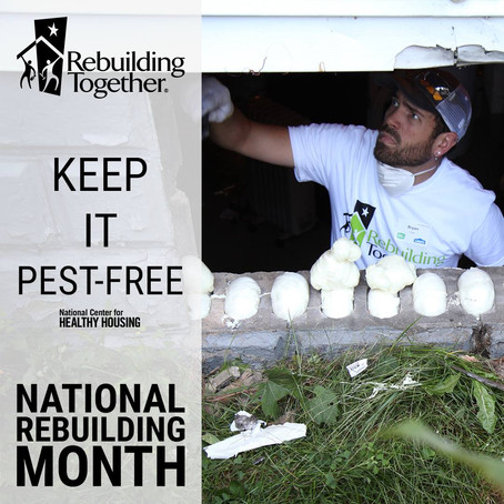 National Rebuilding Month