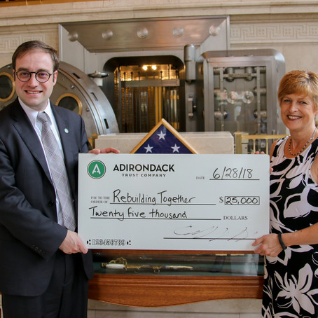 Adirondack Trust Company Makes Generous Gift