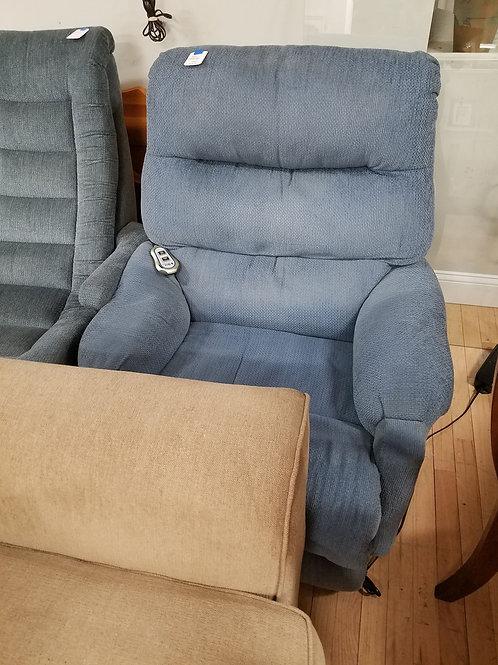 Blue chair lift/ recliner