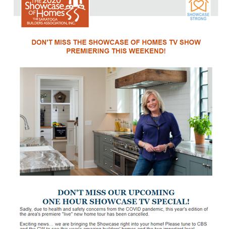 Showcase of Homes 2020 TV Premiere