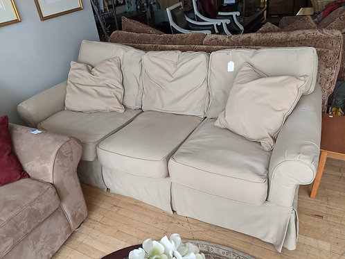 Beige Robin-Bruce Down Couch