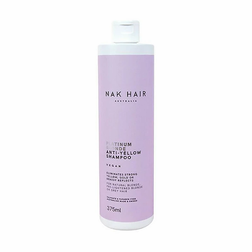 PLATINUM BLONDE ANTI-YELLOW Shampoo - 375ml