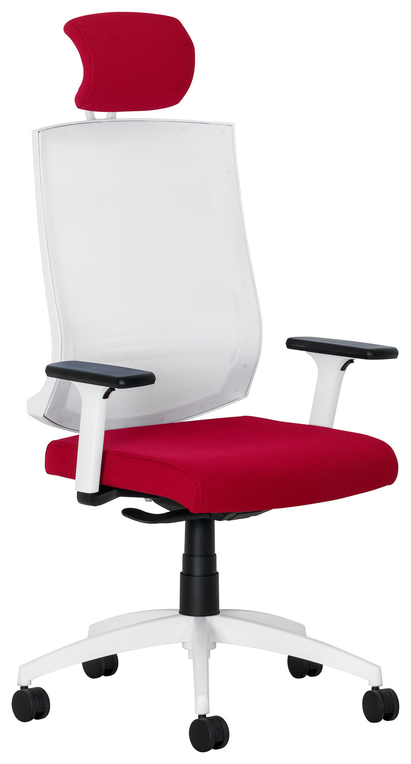 Commercial product photography of an office chair