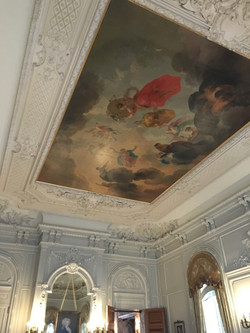 The ceiling of the Drawing Room