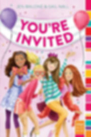 You're Invited Jen Malone Gail Nall book cover