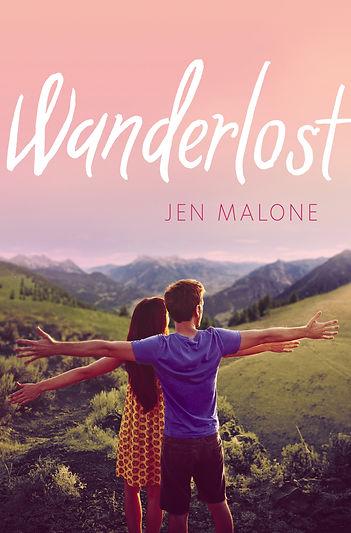 Wanderlost Jen Malone book cover