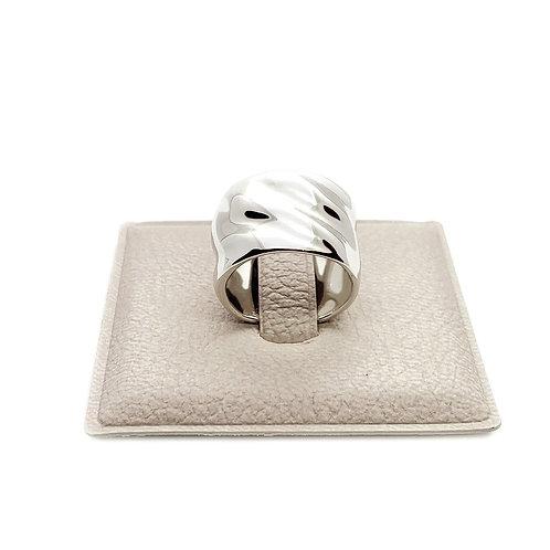 "Кольцо ""Lava""/Лава/Silver34"