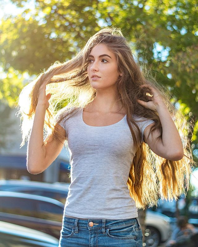 Let your long hair down this summer... a